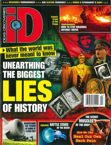 iD 2015.04: Unearthing the Biggest Lies of History