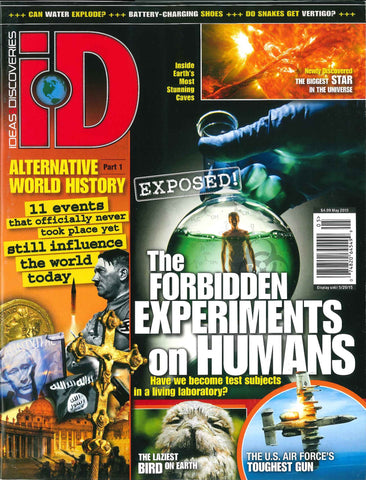 iD 2015.05: The Forbidden Experiments on Humans