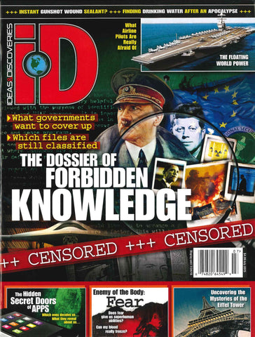 iD 2015.07: The Dossier of Forbidden Knowledge