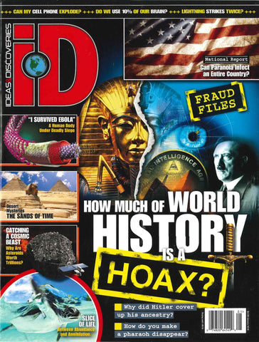 iD 2016.01: How Much of World History is a Hoax?
