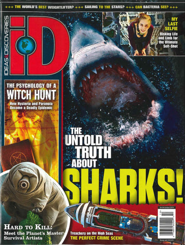 iD 2016.10: The Untold Truth about Sharks