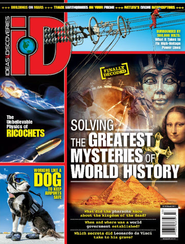 iD 2017.03: Solving the Greatest Mysteries of World History