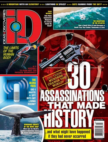 iD 2018.03: 30 Assassinations that Made History