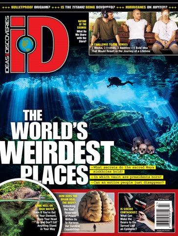 iD 2018.07: The World's Weirdest Places