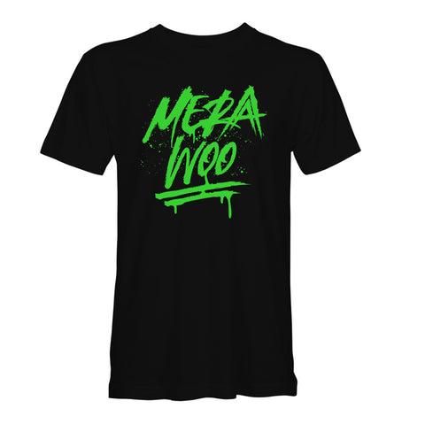 Mera Woo Black/Neon Green T-Shirt