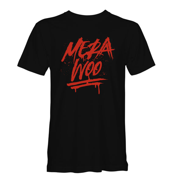 Mera Woo Black/Red T-Shirt