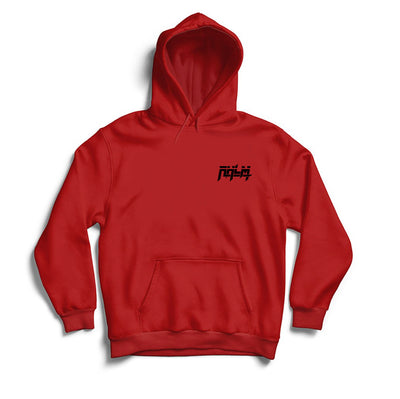 RHLM Red/Black Embroidered Hoodie