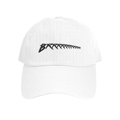 Brrrrrrr Dad Hat - White