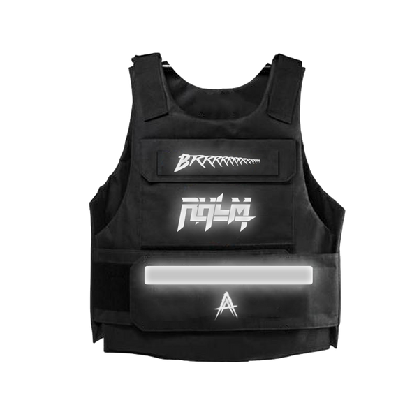 RHLM Black/Gold Reflective Vest