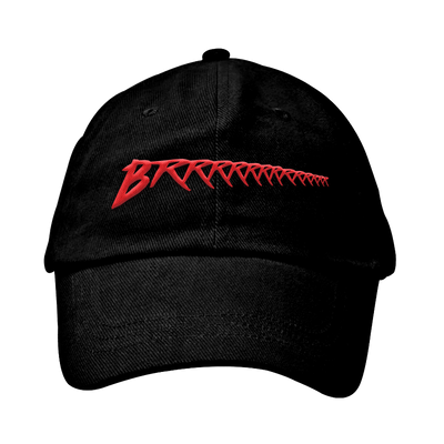 Black/Red Brrr Dad hat