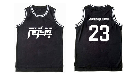 RHLM Black Basketball Jersey