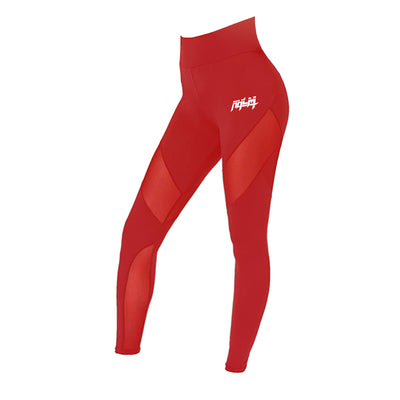 Women's Red RHLM Elite Leggings