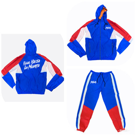 RHLM Red/White/Blue Windbreaker Set
