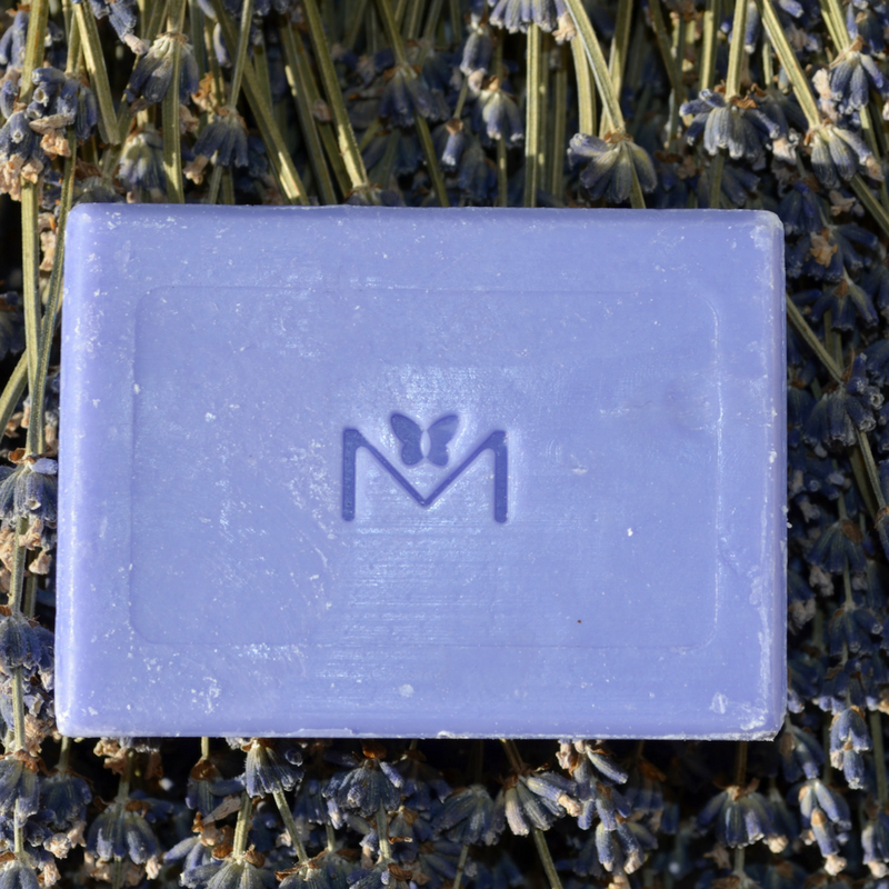 Lavender Soothing Cleansing Soap Bar - 100 g