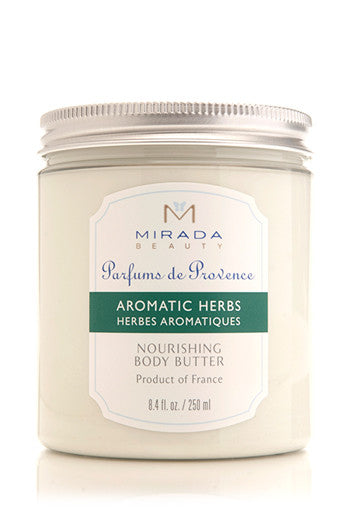 Aromatic Herbs Nourishing Body Butter - 8.4 fl oz