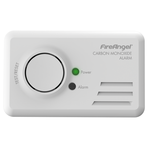 FireAngel 7 Year Replaceable Battery Carbon Monoxide Alarm - CO9B - COD4