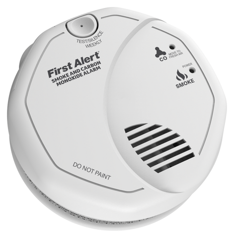 FireAngel 7 Year Replaceable Battery Combined Carbon Monoxide Alarm and Smoke Alarm - SCO5UK - COD5