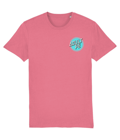 'CRUZ CONTROL' PERFORMANCE STRETCH TEE- DUSKY PINK