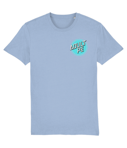 'CRUZ CONTROL' PERFORMANCE STRETCH TEE- BLUE