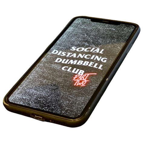 'SOCIAL DISTANCING DUMBBELL CLUB 2.0' E-book