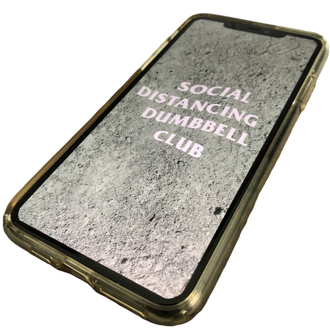 'SOCIAL DISTANCING DUMBBELL CLUB' E-book
