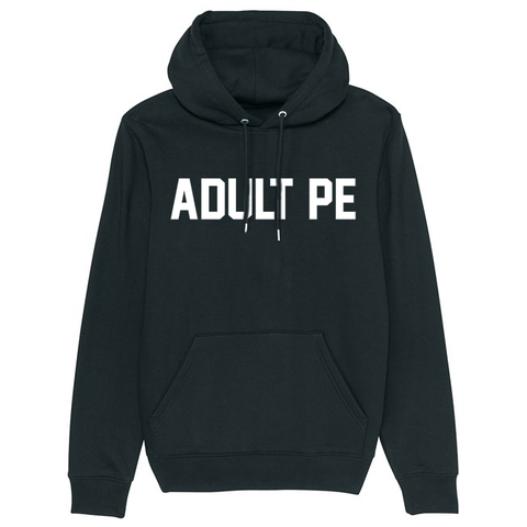 THE WARM-UP HOODIE (BLACK)