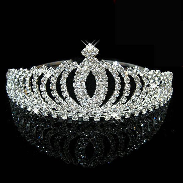 Daisy Crystal Tiara - Tiaras and Crowns - Pandora's Locket