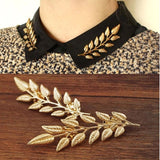 Sprig Collar Brooch - Brooches - Pandora's Locket