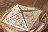 Four Fold Square Invitation Cards - Invitation Cards - Pandora's Locket
