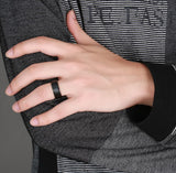 Gun Metal Ring - Men's Rings - Pandora's Locket