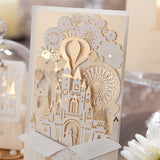 Enchanted Castle Wedding Invitations - Invitation Cards - Pandora's Locket