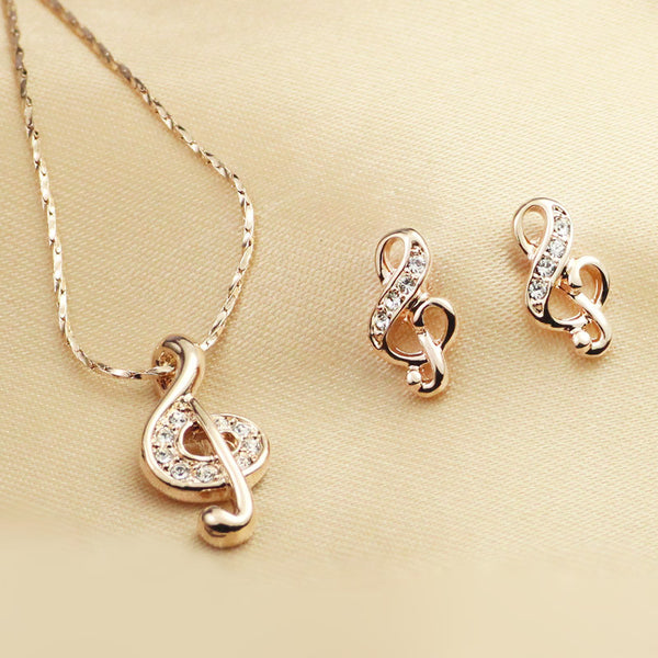 Music Lover's Jewelry Set - Jewelry Sets - Pandora's Locket