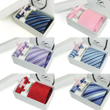 Complete Necktie Gift Set - Men's Formal Accessories - Pandora's Locket