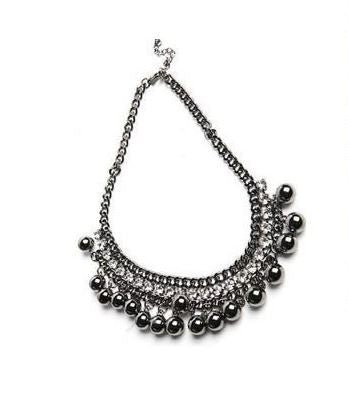 Runway Studded Collar - Fashion Jewelry Necklaces - Pandora's Locket