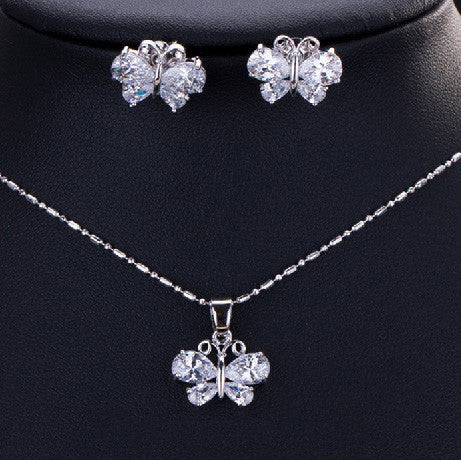 Sabrina Butterfly Jewelry Set - Women's Jewelry Sets - Pandora's Locket