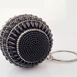 Grand Ball Pearly Round Purse - Clutch Purse - Pandora's Locket