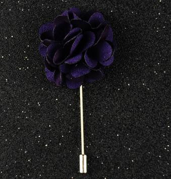 Flower Lapel Pin - Men's Formal Accessories - Pandora's Locket