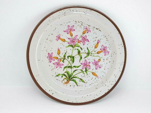 Hearthside Buffet Ware Stoneware Salad Plate Wild Flower Dinnerware Collection - 	Golden Gate Emporium
