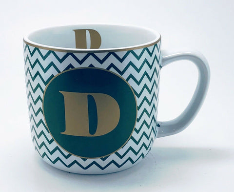 Target Stoneware Monogram Coffee Mug Personalized Name Cup Initial Letter