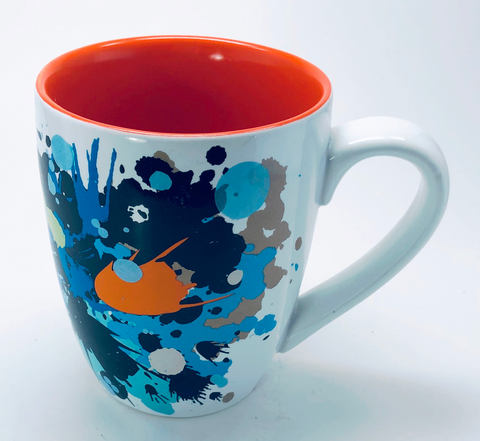 Target Home Mug Abstract Multicolor Stoneware Cup 08 College