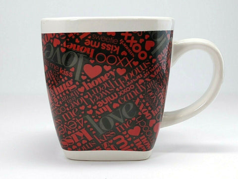 MTY INTERNATIONAL Mug love, mine, kiss me, hug, now or never - 	Golden Gate Emporium
