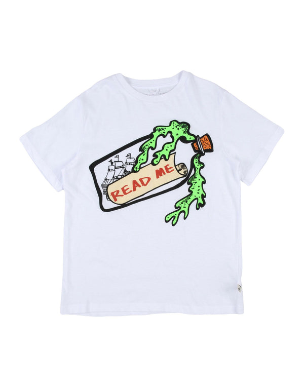 Stella McCartney Kids Jersey Bottle Print T-shirt