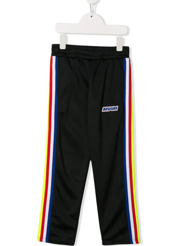 MSGM Triacetate Stipe Pants