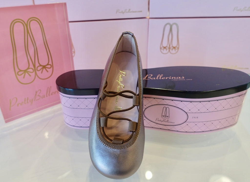 Pretty Ballerinas Copper Hannah Shoes