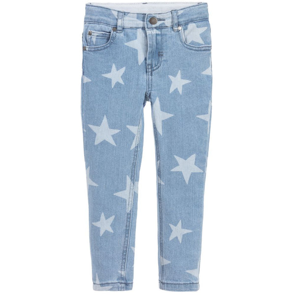 Stella McCartney Kid Girl Stars Skinny Denim