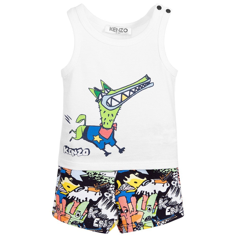 Kenzo Boys Top and Shorts Set
