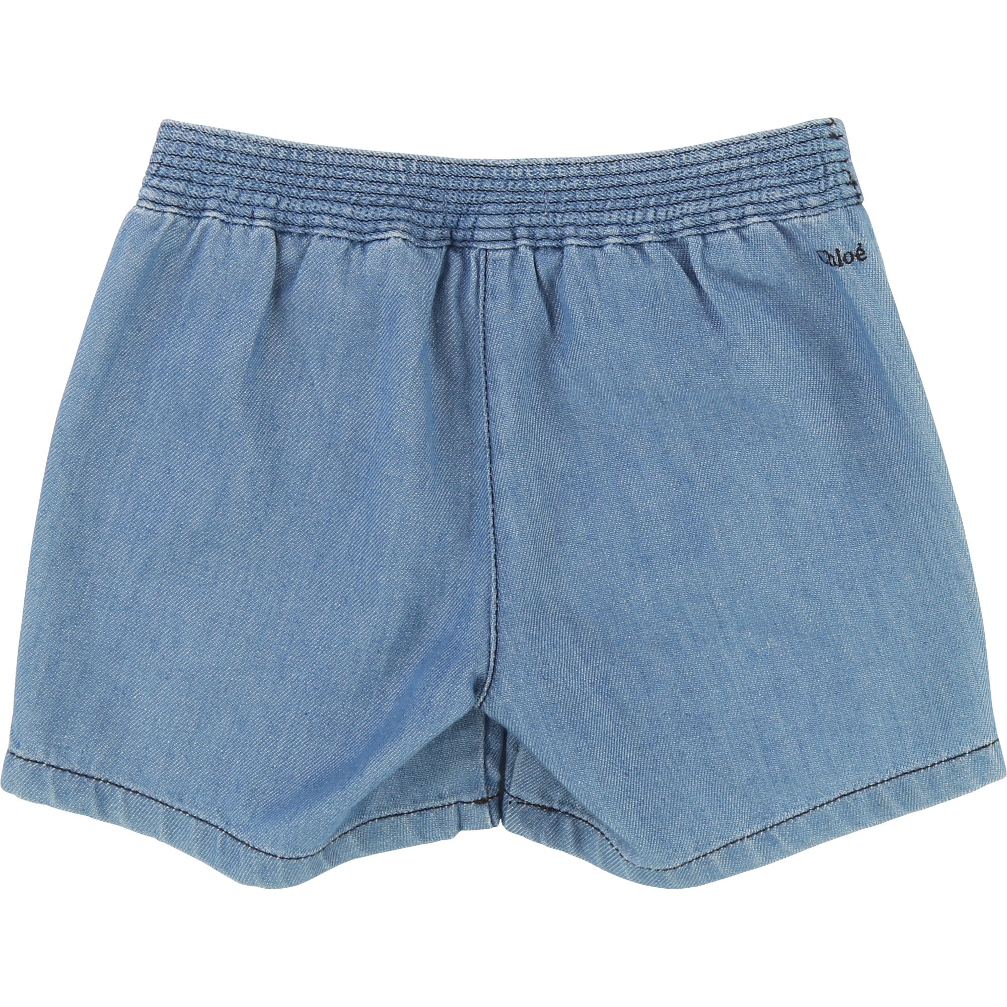 Chloe Blue Denim Shorts