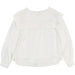 Chloe White Silk Blouse