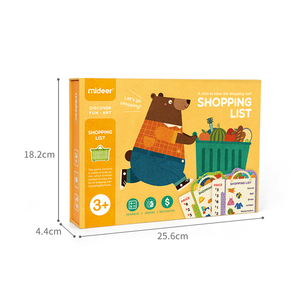 Mideer Shopping List Board Game