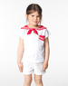 Little Marc Jacobs Sailor Top